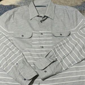 Perry Ellis men's L button up shirt
